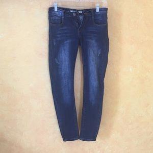 Machine skinny jean ankle length
